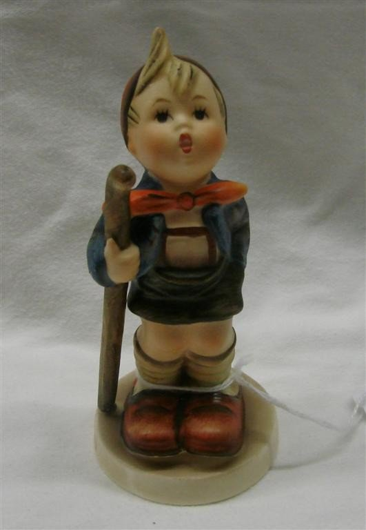 3: Hummel Figurine: Little Hiker, #16/2/0; TM 3.