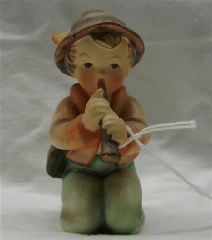 4: Hummel Figurine: Little Tooter, #214/H; TM 4.