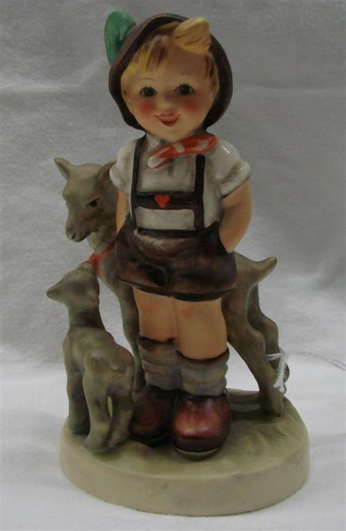 8: Hummel Figurine: Little Goat Herder, #200/0; TM 5