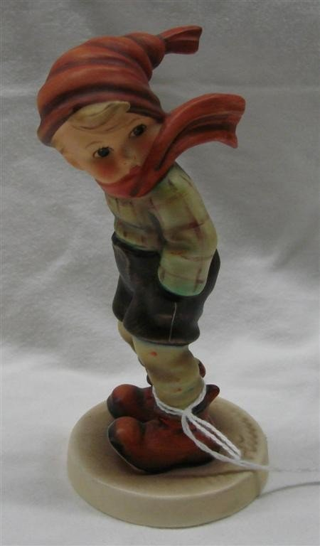 10: Hummel Figurine: March Winds, #43; TM 5.