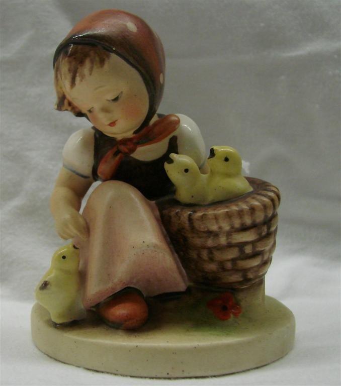 11: Hummel Figurine: Chick Girl, #57/0; TM 2.