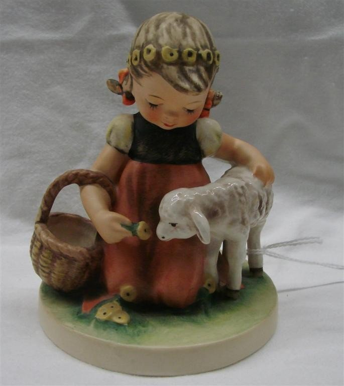 13: Hummel Figurine: Favorite Pet, #361; TM 4