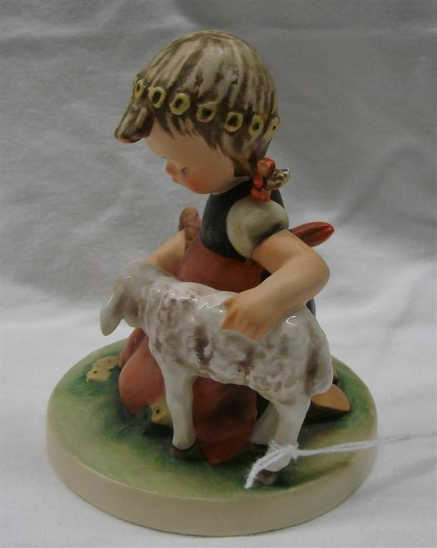 13: Hummel Figurine: Favorite Pet, #361; TM 4 - 2