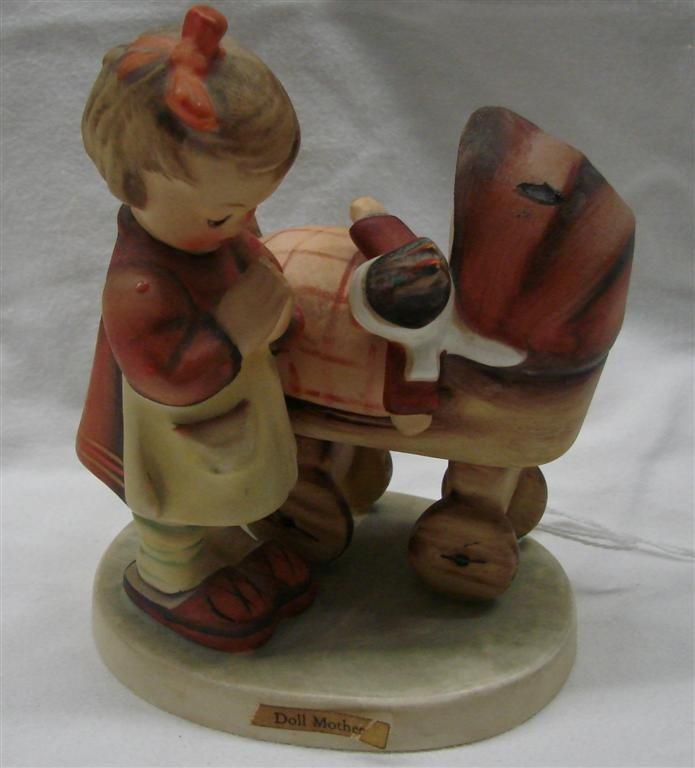19: Hummel Figurine: Doll Mother, #67; TM3.