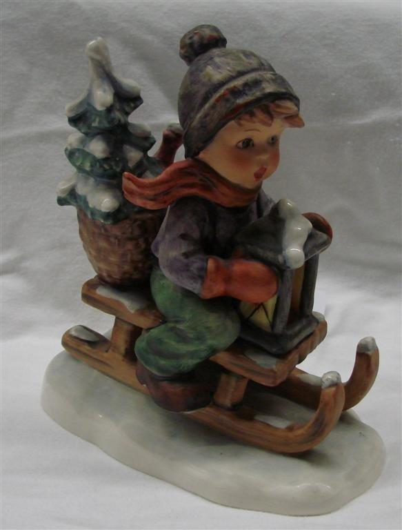 24: Hummel Figurine: Ride Into Christmas, #396; TM 5.