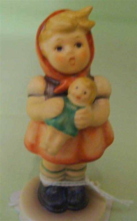 Hummel Figurine: Girl with Doll. #239/B; TM 8
