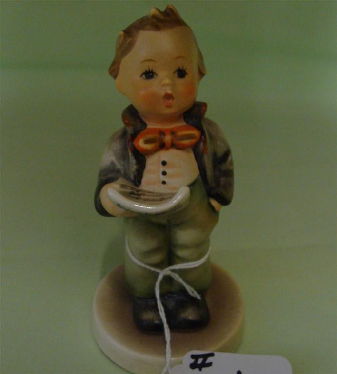 Hummel Figurine: Soloist. # 135; TM 3. Book V