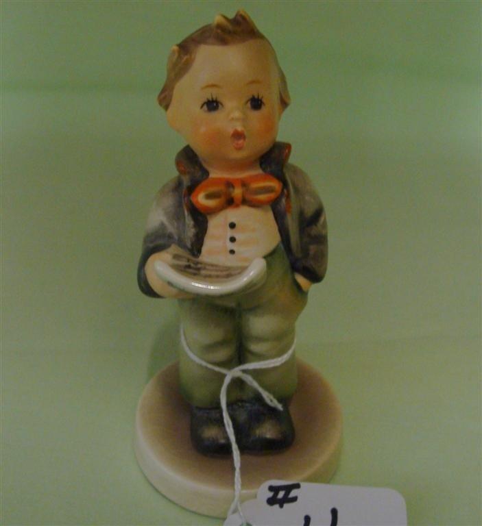 Hummel Figurine: Soloist. # 135; TM 3. Book V - 2