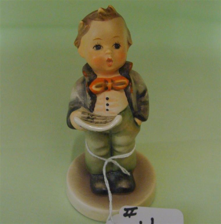 Hummel Figurine: Soloist. # 135; TM 3. Book V - 3