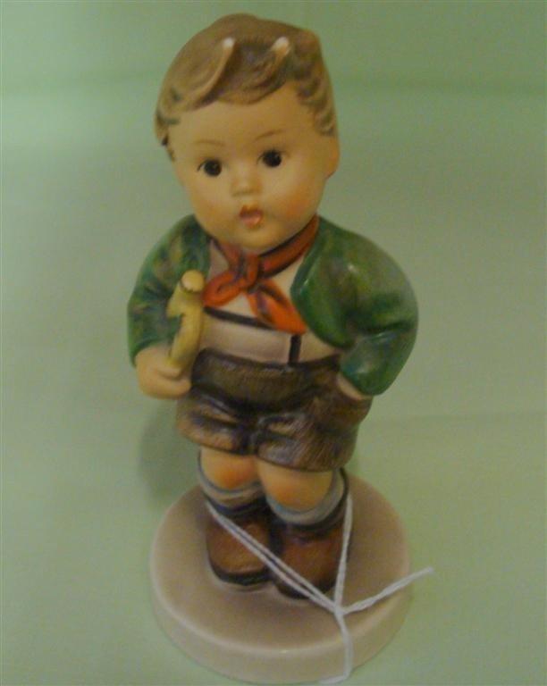 Hummel Figurine: Trumpet Boy. # 97; TM 3. Boo