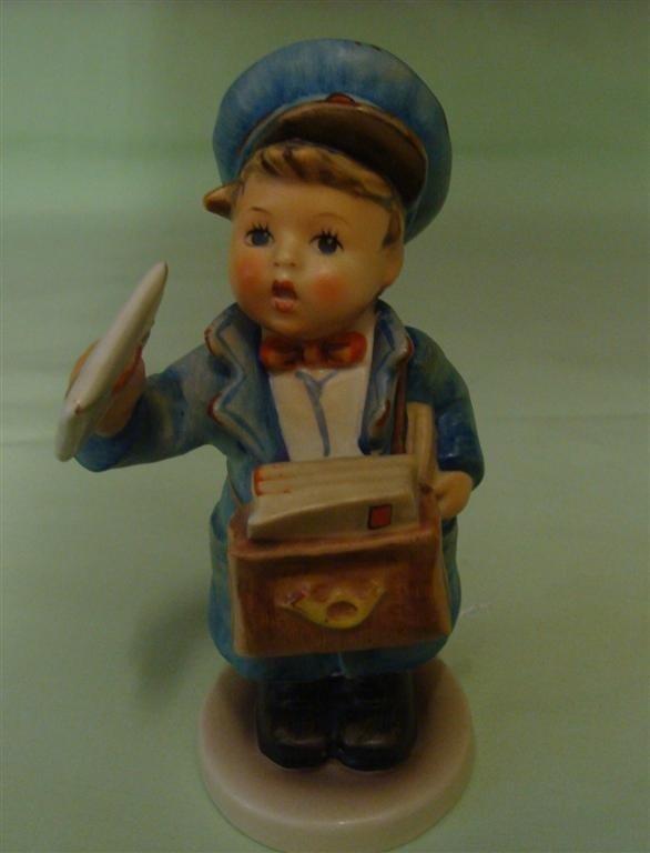 Hummel Figurine: Postman. # 119; TM 5. Book V