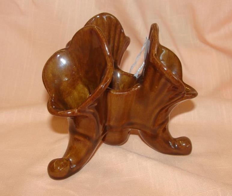 Van Briggle Art Pottery: Bud Vase & Plant Hol - 8