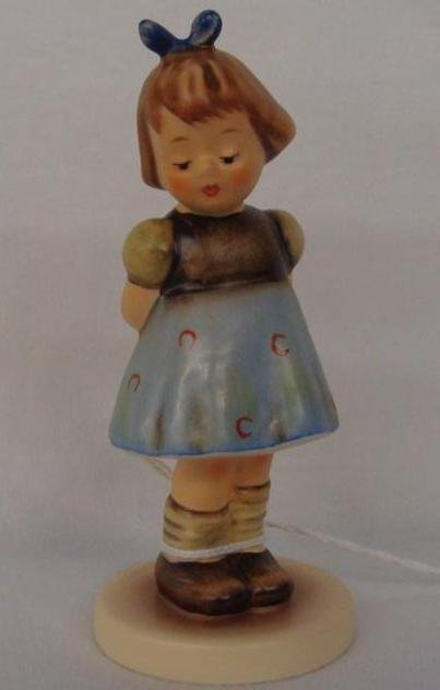 Hummel Figurine: Two Hands, One Treat; Collectors Club