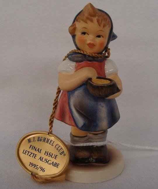 Hummel Figurine: From Me To You; Collectors Club Editio