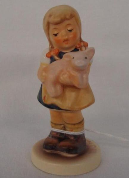 Hummel Figurine: Pigtails; Collectors Club Edition; #20