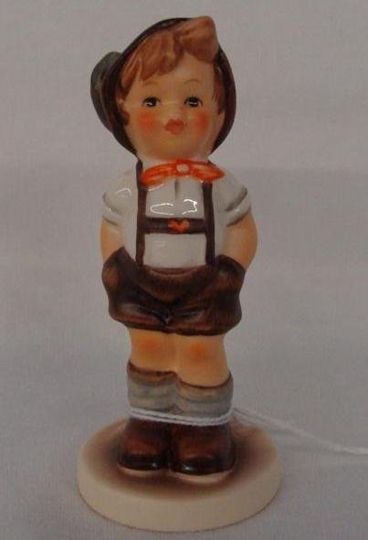 Hummel Figurine: For Keeps; Collectors Club Edition; #6