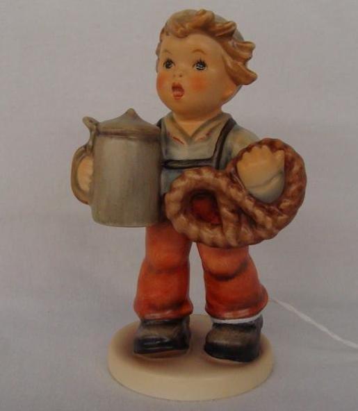 Hummel Figurine: Pretzel Boy; Collectors Club Edition;