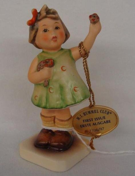 Hummel Figurine: Forever Yours Collectors Club Edition;