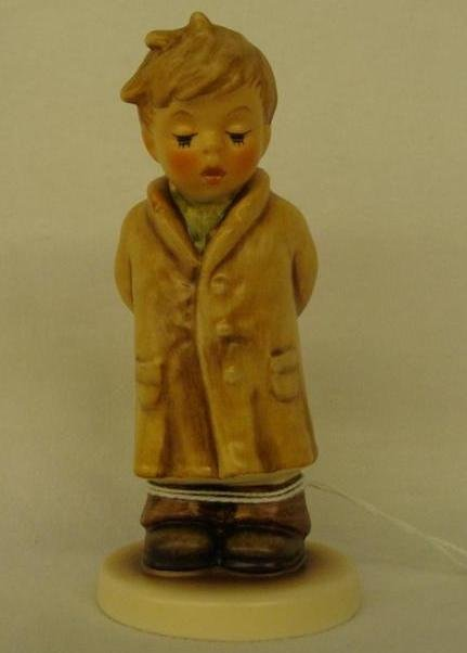 Hummel Figurine: Too Shy to Sing; Collectors Club Editi