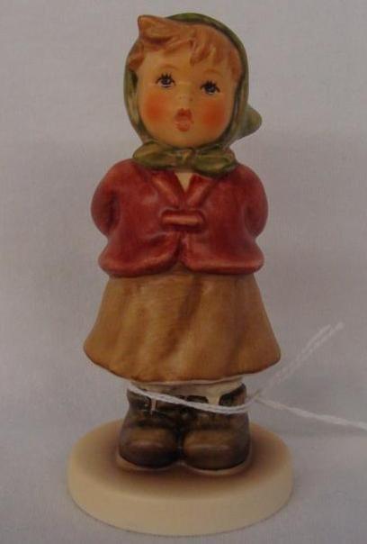 Hummel Figurine: Clear as a Bell; Collectors Club Editi