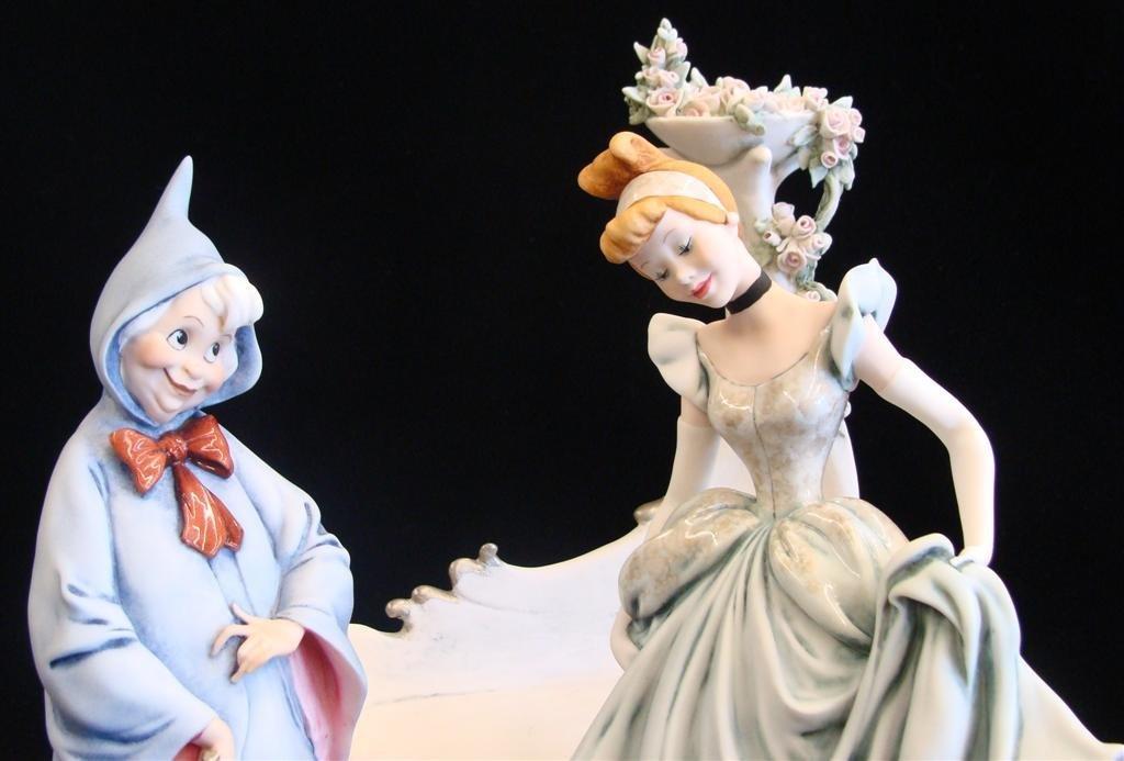 Giuseppe Armani Figurine: Cinderella & Fairy Godmother - 10