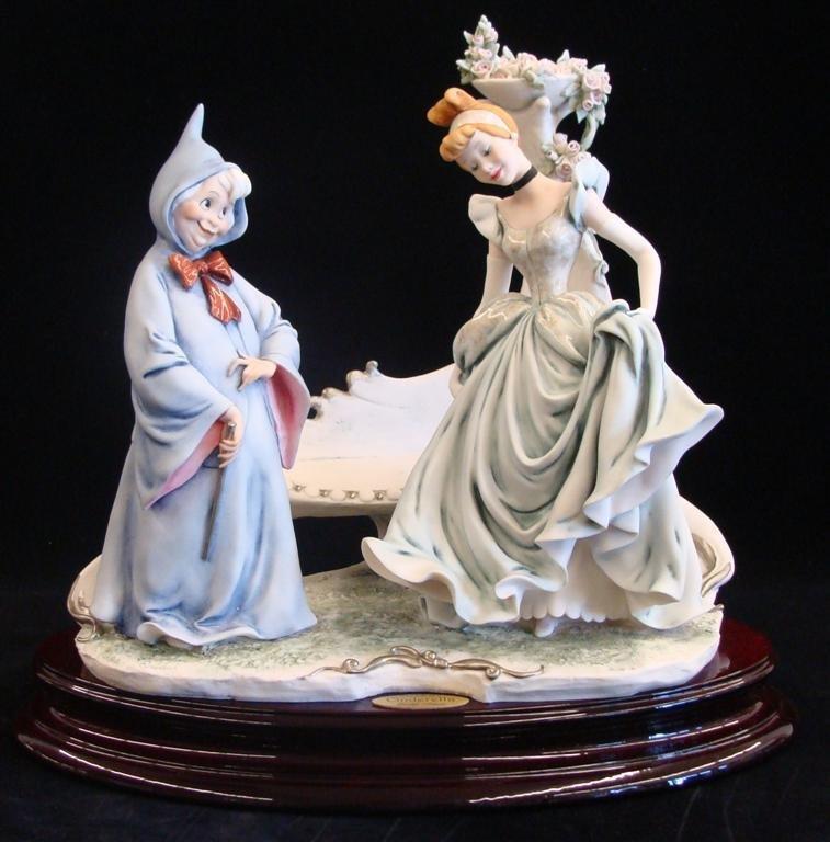 Giuseppe Armani Figurine: Cinderella & Fairy Godmother