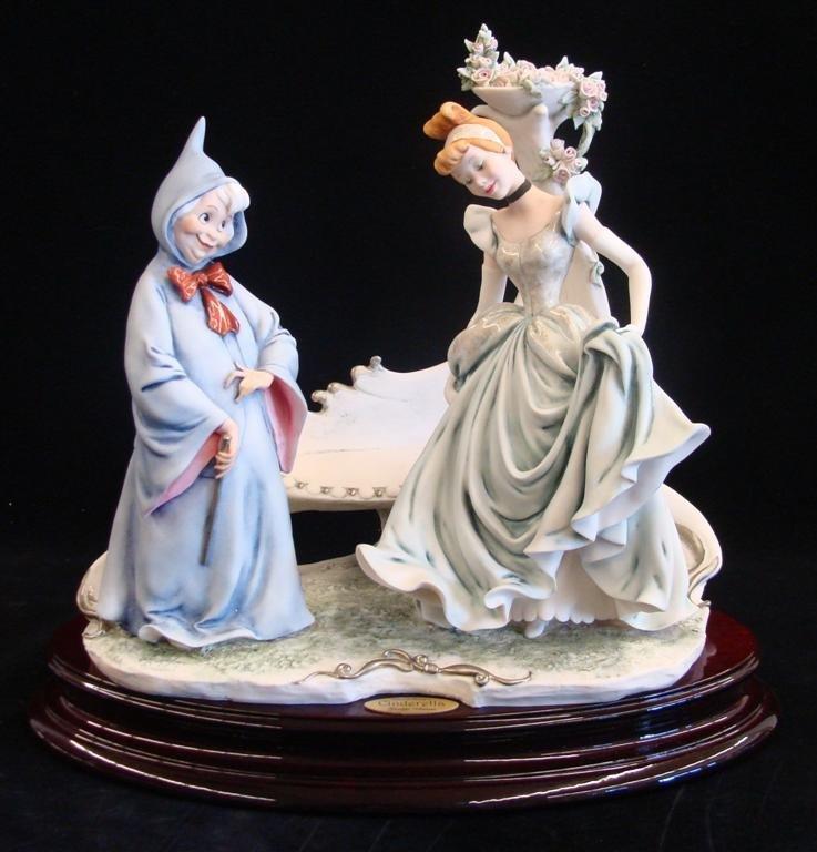 Giuseppe Armani Figurine: Cinderella & Fairy Godmother - 2
