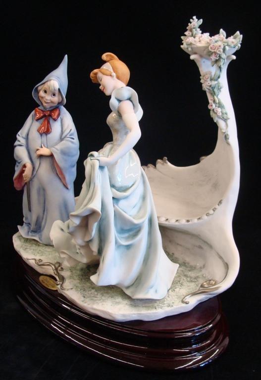 Giuseppe Armani Figurine: Cinderella & Fairy Godmother - 3
