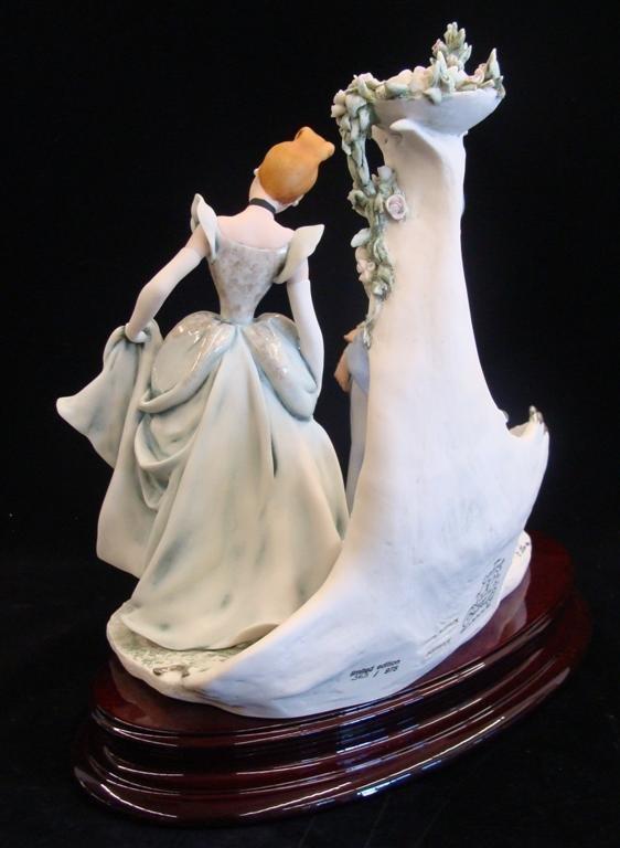 Giuseppe Armani Figurine: Cinderella & Fairy Godmother - 4
