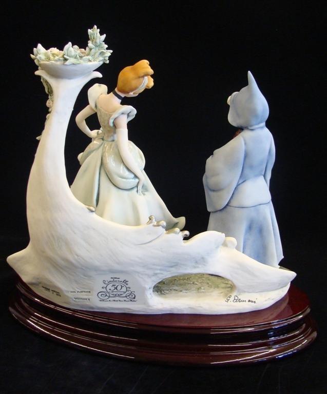 Giuseppe Armani Figurine: Cinderella & Fairy Godmother - 8