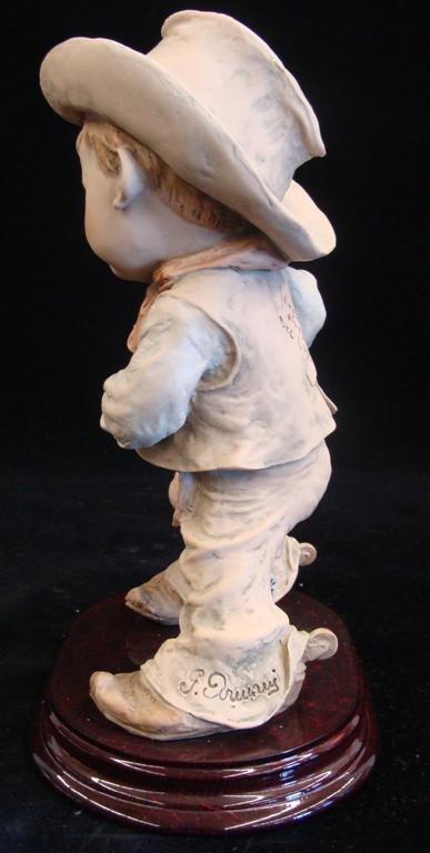 Giuseppe Armani Figurine: Cowboy #657T. Ltd Ed #407/100 - 2