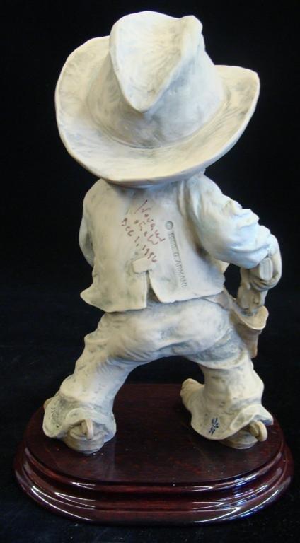 Giuseppe Armani Figurine: Cowboy #657T. Ltd Ed #407/100 - 3