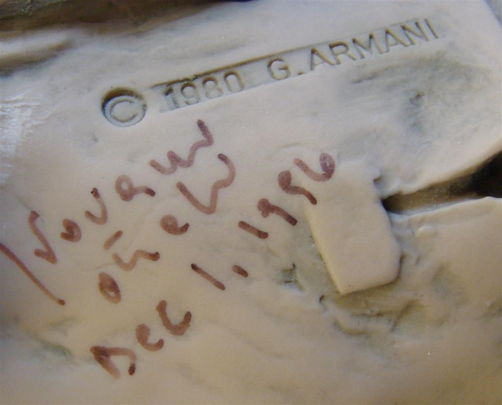 Giuseppe Armani Figurine: Cowboy #657T. Ltd Ed #407/100 - 6