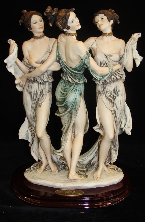Giuseppe Armani Figurine: The Three Graces #1256E. Ltd