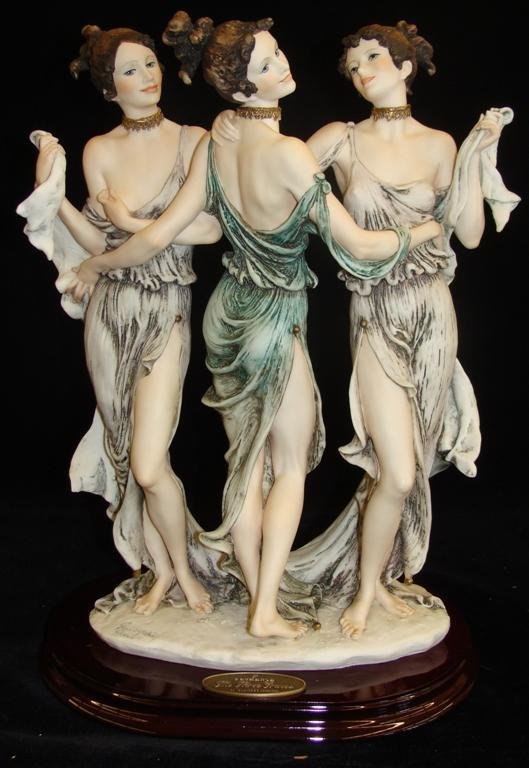 Giuseppe Armani Figurine: The Three Graces #1256E. Ltd - 2