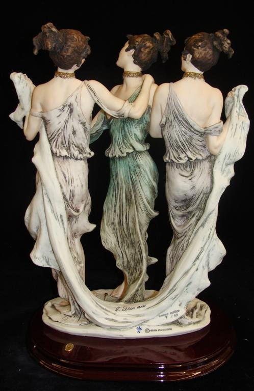 Giuseppe Armani Figurine: The Three Graces #1256E. Ltd - 4