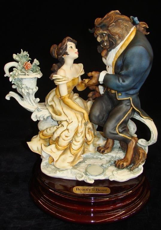 Giuseppe Armani Figurine: Beauty & The Beast #543C. Ltd