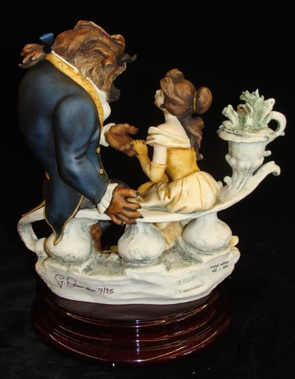 Giuseppe Armani Figurine: Beauty & The Beast #543C. Ltd - 3