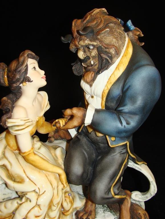 Giuseppe Armani Figurine: Beauty & The Beast #543C. Ltd - 8