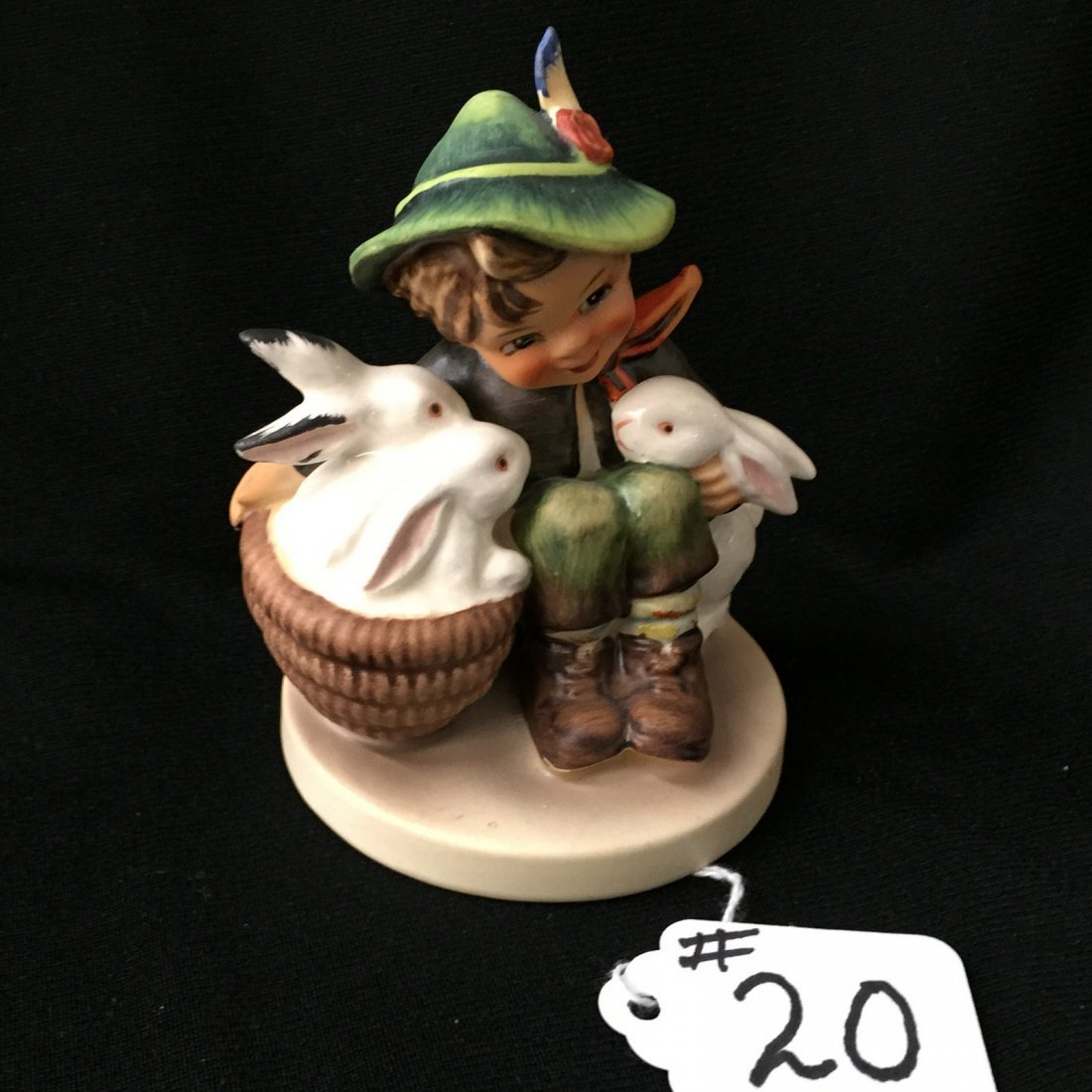 Hummel Figurine: Playmates; #58/0 TM 5. Book Value