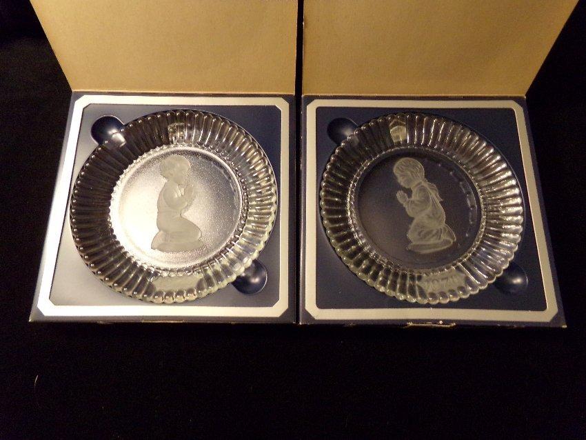 2 Goebel Crystal Plates: 1978 & 1979