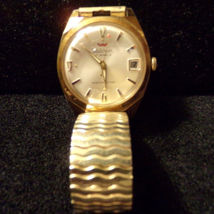 Vintage 17 Jewel Waltham Watch