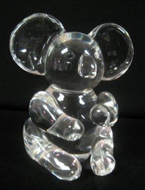 2011: Steuben Crystal Figural Koala Bear, # 8268