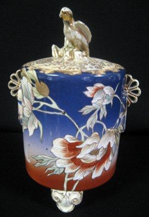 2012: 19th Century Japanese Satsuma Lidded Jar