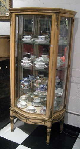 Modern French Style Curio Cabinet