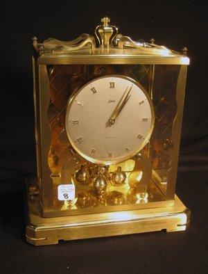 Schatz 1000 Day Brass Framed Anniversary Clock