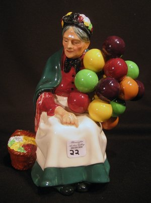 "Royal Doulton Figurine""The Old Balloon Seller"" HN #1315"