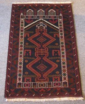 Persian Baluchi Prayer Rug