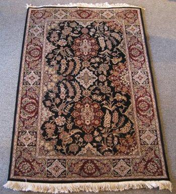 Fine Wool & Silk Persian Tabriz Design