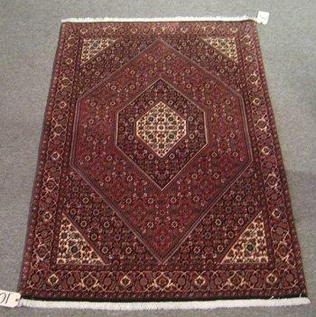 Fine Wool & Silk Persian Bidjar, The Iron Rug of Persia